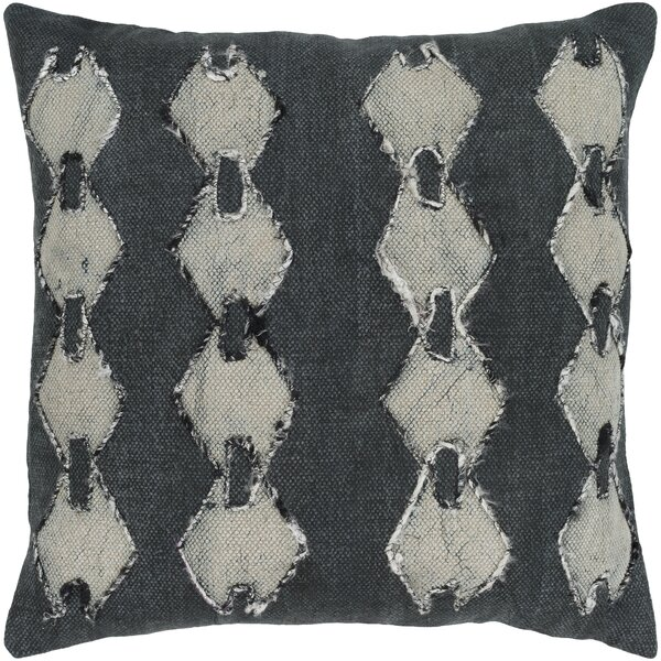 Owens 100% Cotton Throw Pillow by Union Rustic